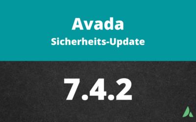 Avada Sicherheitsupdate 7.4.2
